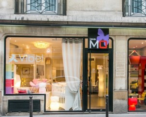 Showroom du 74, rue Saint-Didier, 75016 Paris