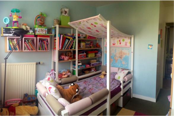 Photographie de sa chambre