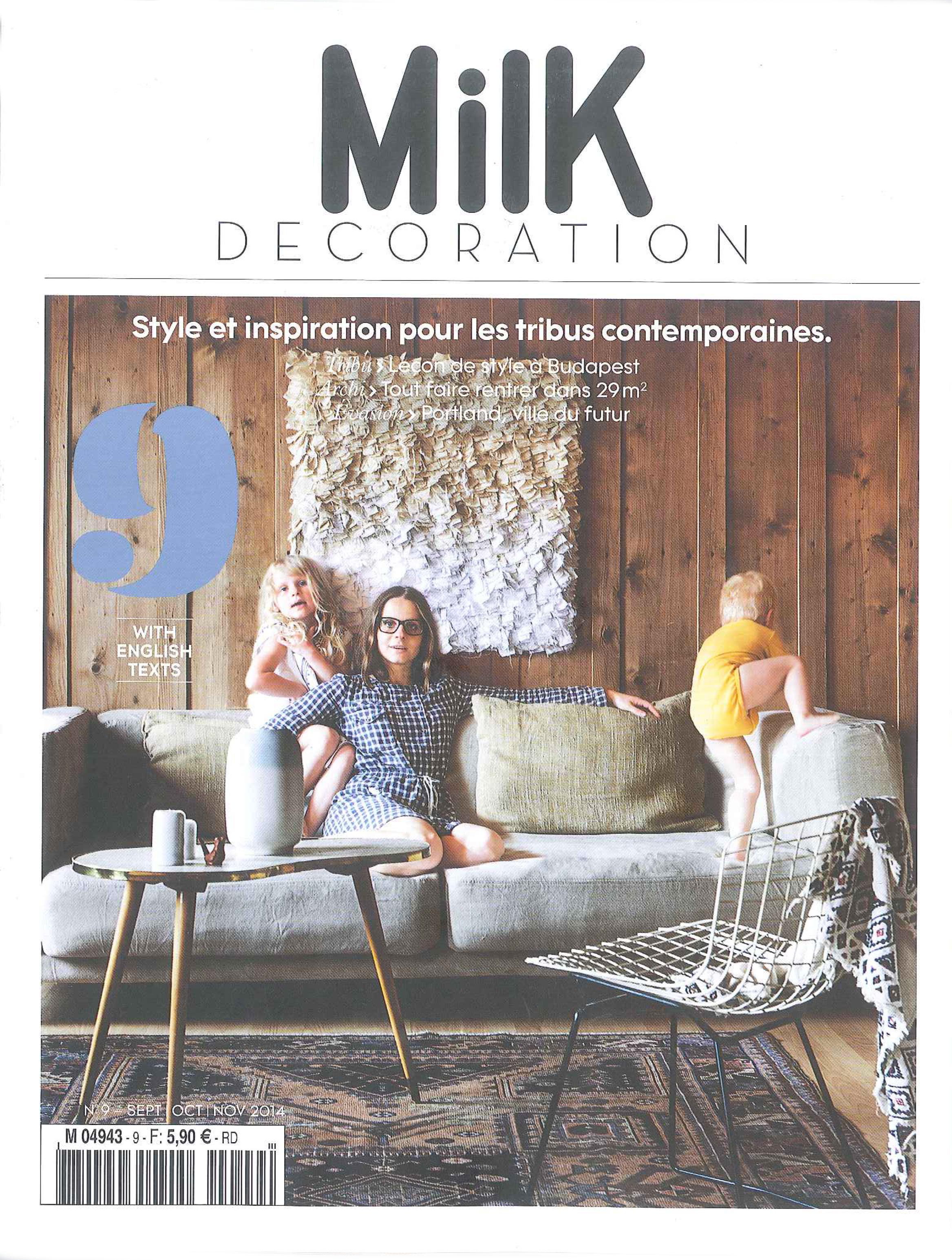 MILK DECORATION - SEPT - OCT- NOV 2014