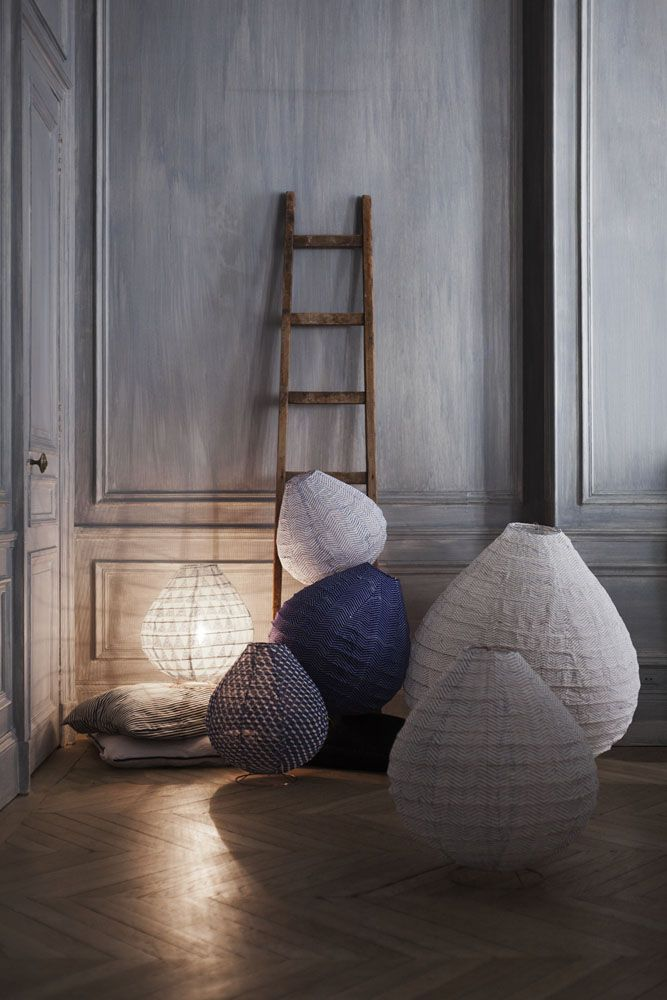 PARIS AU MOIS D'AOUT : du fil de coton au luminaire